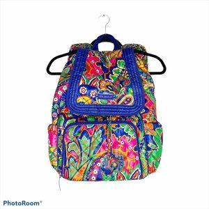 Vera Bradley Puffy Venetian Paisley Backpack